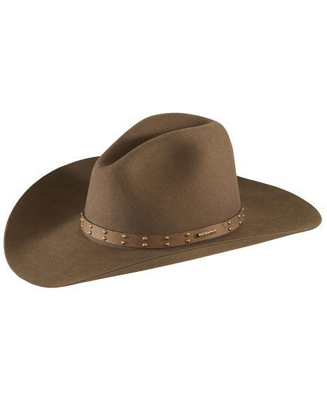 Stetson 4X Seminole Gus Buffalo Felt Cowboy Hat  ThingstoWear bfb59a352d87