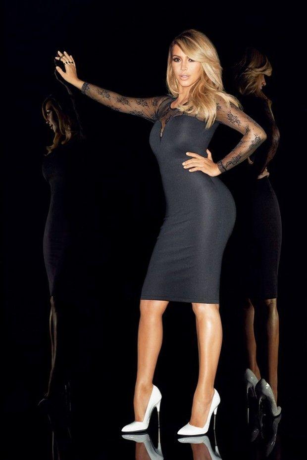 Kim by Terry Richardson for Kardashian Kollection for