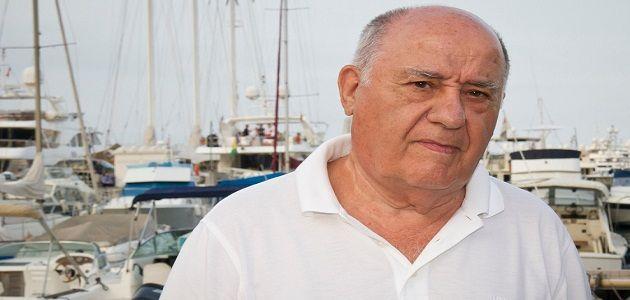 Amancio Ortega – İspanya – Serveti: 60,8 milyar dolar. (Dünyanın 3. en zengin ismi)
