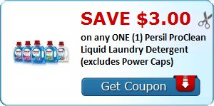 New Coupon!  Save $3.00 on any ONE (1) Persil ProClean Liquid Laundry Detergent (excludes Power Caps) - http://www.stacyssavings.com/new-coupon-save-3-00-on-any-one-1-persil-proclean-liquid-laundry-detergent-excludes-power-caps/