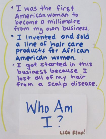 A simple idea for Black History Research. Find three unique facts & write the person under an index card. Could make an interactive bulletin board.
