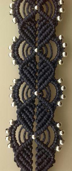 macrame in navy blue | the art of decorative knotting | Dev'Art60 | Flickr