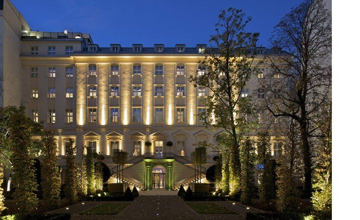 Best Business Hotels 2009: Kempinski Hybernskà, Prague Part of Europe's oldest luxury hotel group founded in Germany in 1897, the Kempinski Prague is the result of meticulous restorations made to a 17th century listed property with a unique private garden. Trees topping 7 metres were airlifted into the garden, which is only accessible through the hotel. We love the property's presidential suite featuring a private terrace and hot tub.