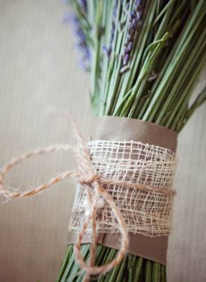 bridesmaids bouquets tied with burlap and maybe pink or green string?: Flowers Photography, French Countryside, Bridesmaid Flowers, Kansas Cities Wedding, Wedding Theme, Lavender Bouquets, Style Me Pretty, Bridesmaid Bouquets, Larkphotos Com