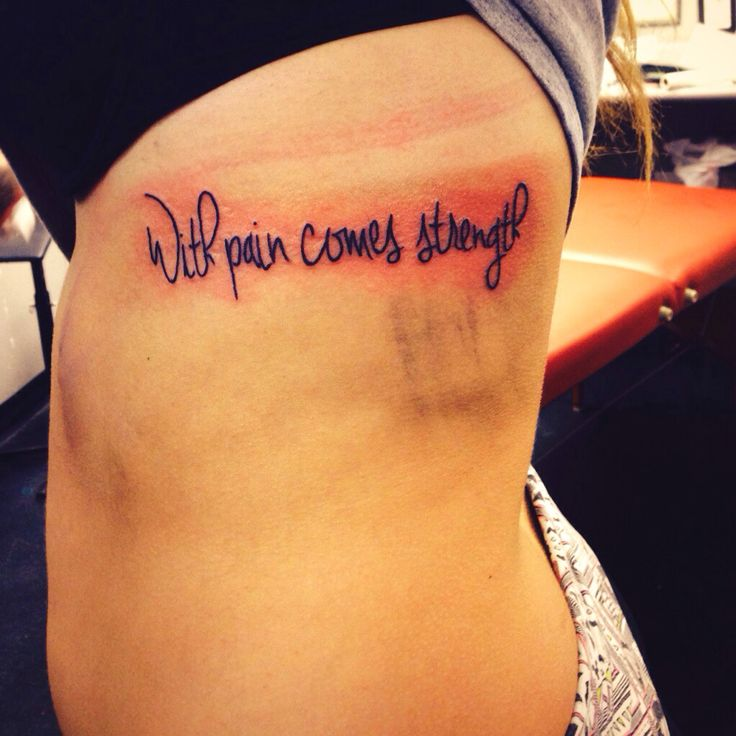 349 best images about s0m3 da on pinterest watercolors for With pain comes strength tattoo