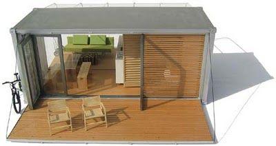Bark Design All Terrain Cabin (ATC) Container Home