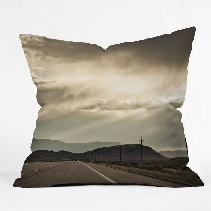 Bird Wanna Whistle On the Way Outdoor Throw Pillow | DENY Designs Home Accessories
