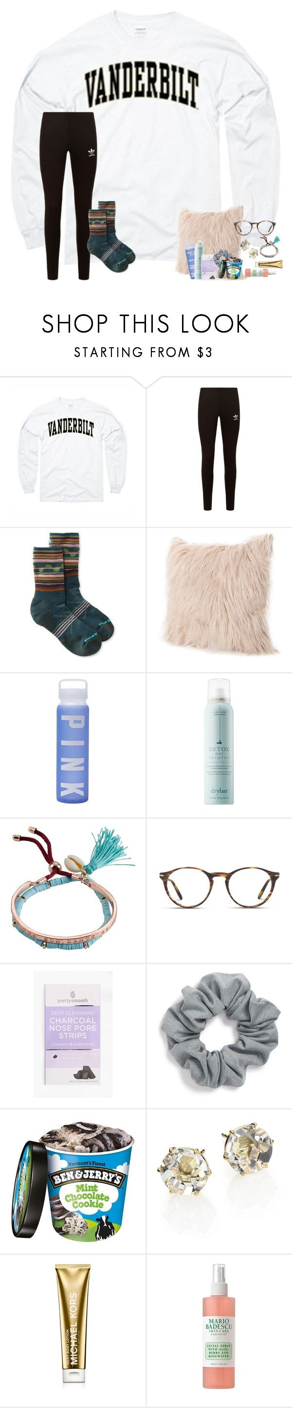 """~ 2 hr facetime:) ~"" by taylortinsley ❤ liked on Polyvore featuring adidas Originals, Smartwool, Victoria's Secret, Drybar, Billabong, Persol, Natasha, Ippolita, Michael Kors and Mario Badescu Skin Care"