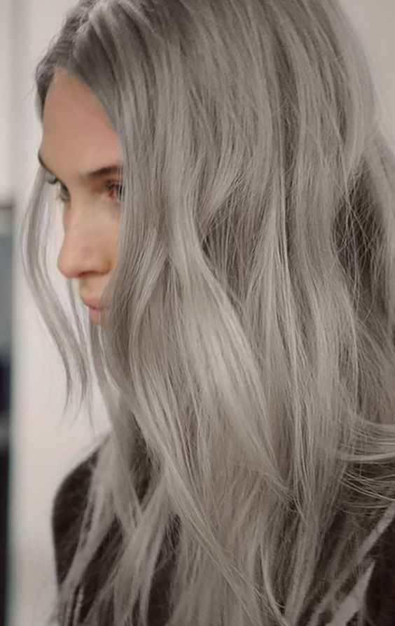 Silver/ Grey Hair Extensions from Cliphair | 100% Human Hair Extensions | Worldwide Free delivery > Order Online Now #Greyhair #silverhair #gorgeous #hairextensions