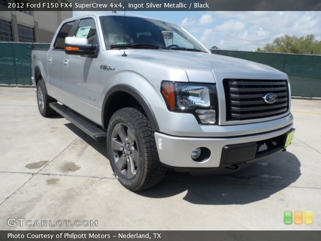 2012 Ford F150 FX4 SuperCrew 4x4 in Ingot Silver Metallic..picking it up next week!!! <3
