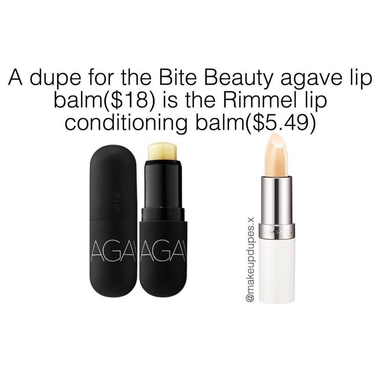 "202 Likes, 5 Comments - makeup dupes  (@makeupdupes.x) on Instagram: ""these lip balms are super hydrating and help with cracked or dry lips!the bite lip balm is…"""