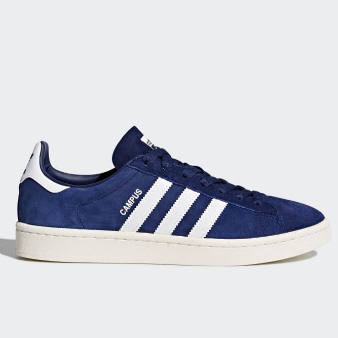 Blue Suede Campus Sneakers