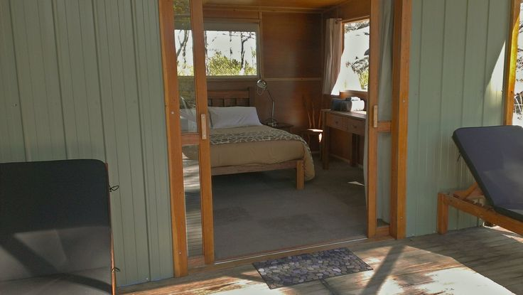 Whaleback bedroom from northern deck