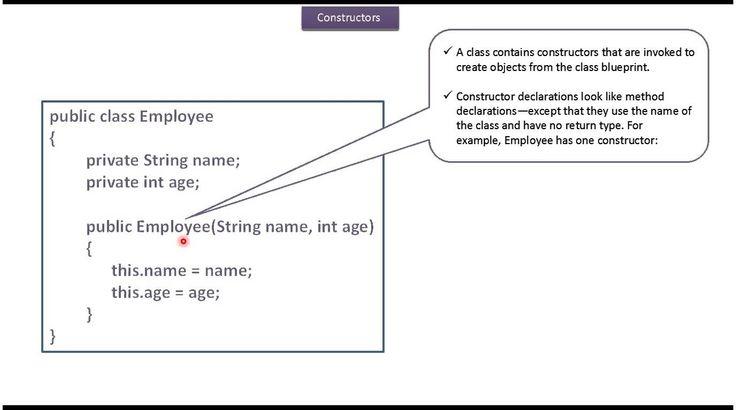 Java Tutorial : Java  Constructor