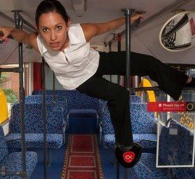 Back of the Bus Dancer: Natalie Hona Photographer: Mikel Taylor