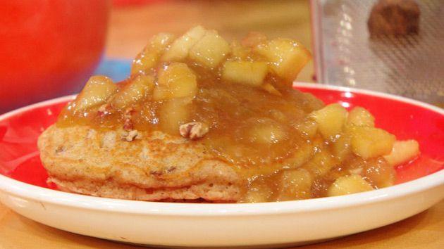 Pecan cinnamon and nutmeg pancakes recipe pinterest for Award winning pancake recipe