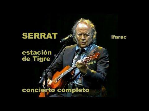 Joan Manuel Serrat, Argentina abril 2015 concierto completo - YouTube
