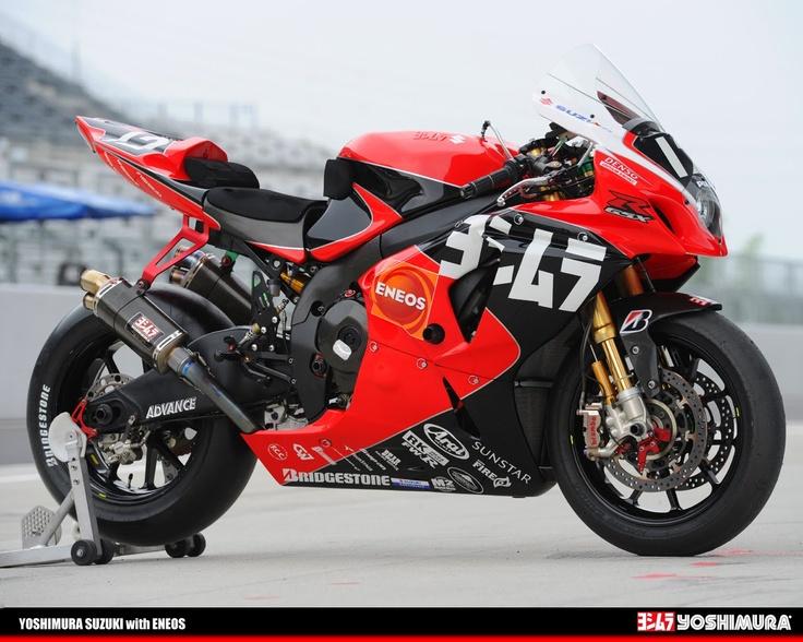 Racing Cafè: Yoshimura GSX R 1000 K10 8 Hours Suzuka 2010
