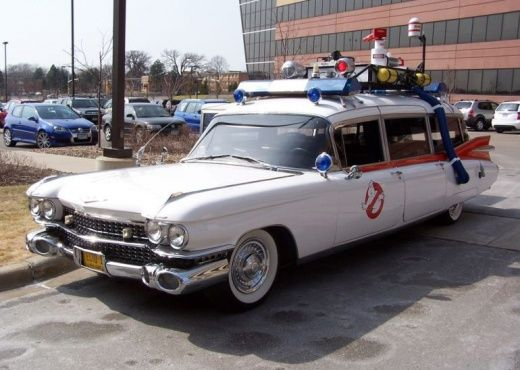 ECTO-1 Ghost busters car
