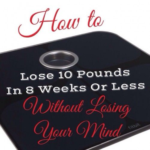 How To Lose 10 Pounds in 8 Weeks or Less. Every wants to lose those unwanted pounds. Here are some tips to help you get started.