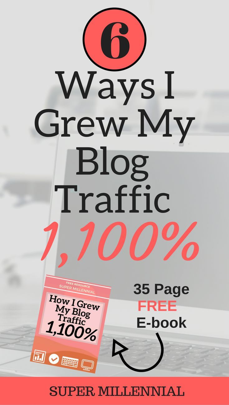 Check out how I grew my blog traffic over 1,000% in 2017. No facebook ads needed…