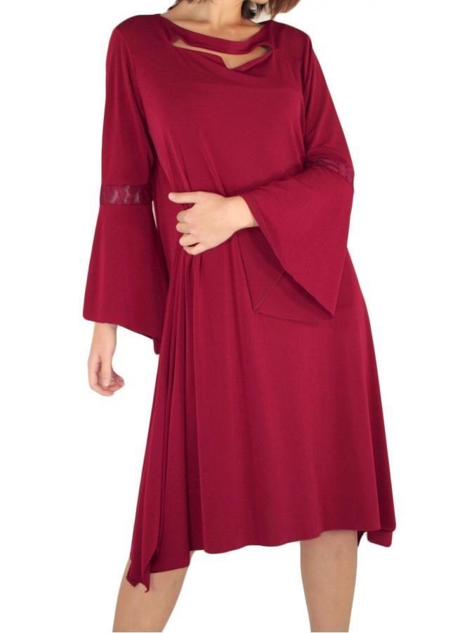 RAXSTA Ριχτό φόρεμα, καμπανέ μανίκι