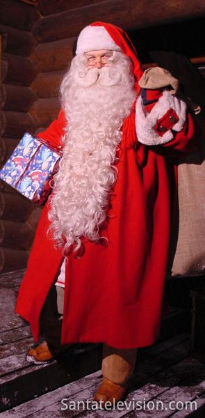 Santa Claus of Lapland and the Christmas gifts