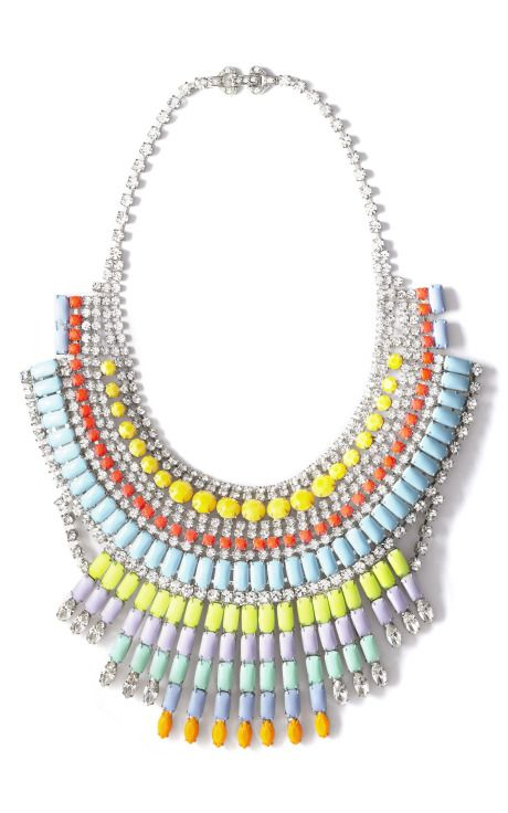 Tom Binns Soft Power Massai Necklace  @Emily Roth, you could rock this