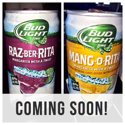 Coming Soon this March! #BudLight #Razberita #Mangorita