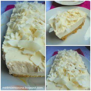 Torta Fria Yogurt y Coco