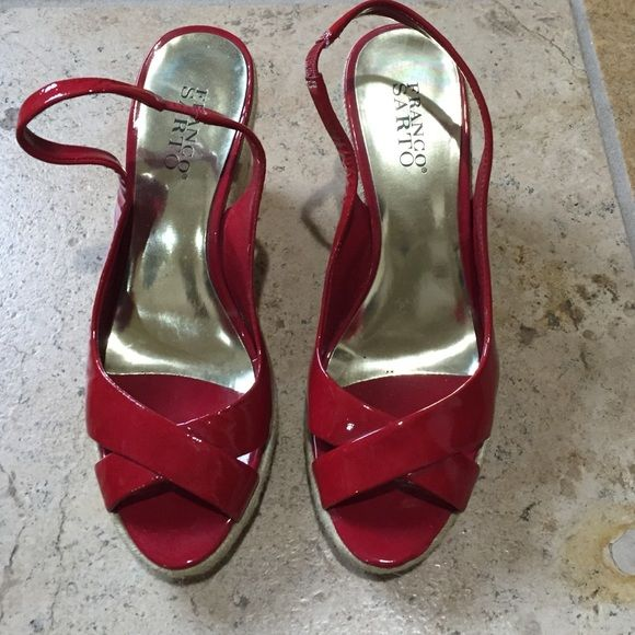 1000 Ideas About Red Wedges On Pinterest Wedge Heels