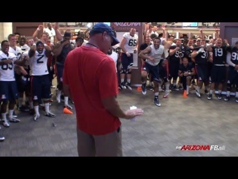 Big Guys can dance, AZ football team annual dance off - Name that style?   http://youtu.be/MhbH5GE6HOI