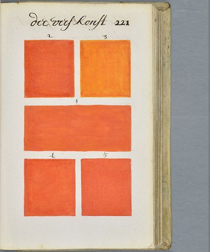 pantone color book 17th century a boogert before pantone was the authority on color
