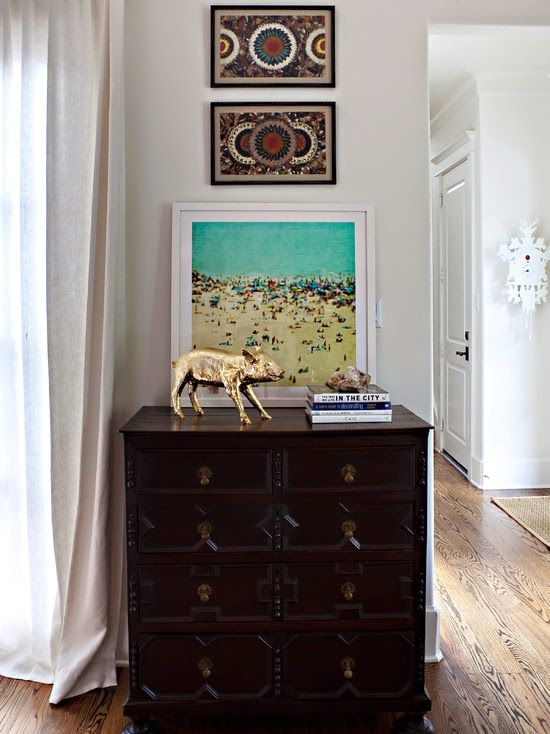 Eclectic Interiors in Houston Home ~ Interiors and Design Less Ordinary