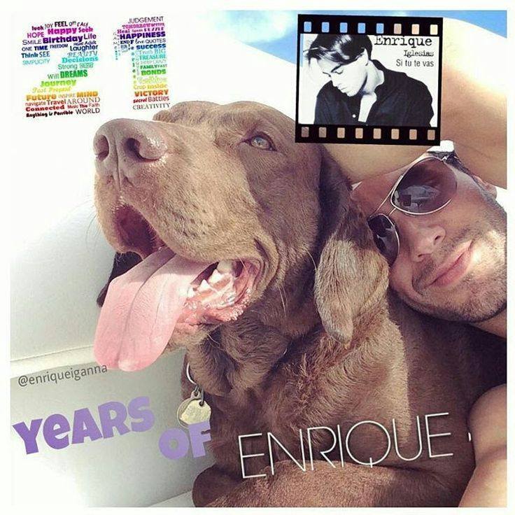 Enrique Iglesias, do you know how we celebrated #21yearsofEnrique?