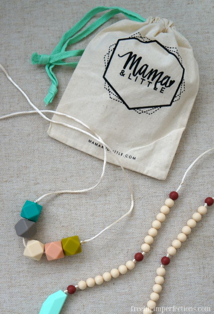 Mama + Little Teething Jewelry Review