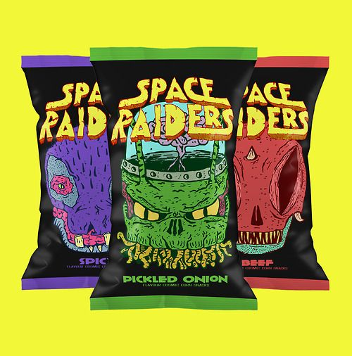 Space Raiders: your daily #packaging smile : ) PD