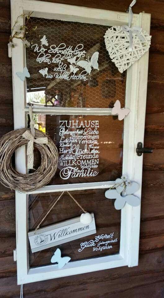 Die 25 besten ideen zu sichtschutz aus glas auf pinterest - Fenster dekorieren ideen ...