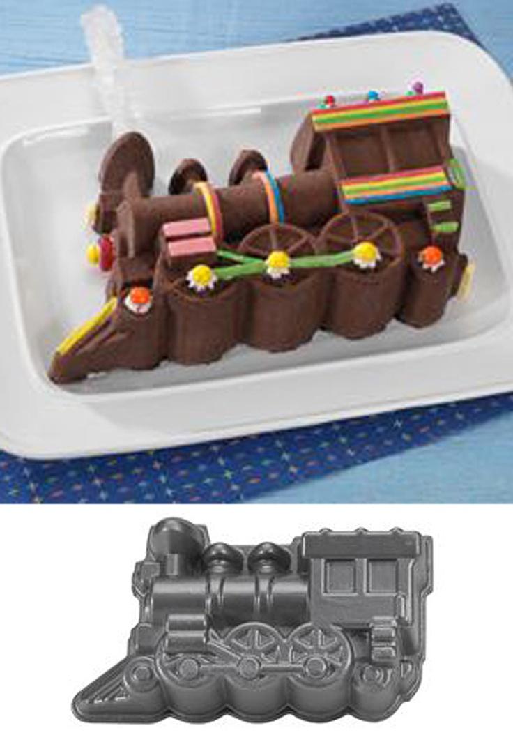 Nordic Ware Locomotive Cake Pan Instructions
