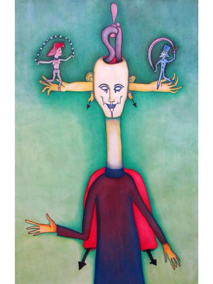 El Mago Aecano I El Mago  Alejandro Jodorowsky Yo, El Tarot Painted by: @PascaleMJodo