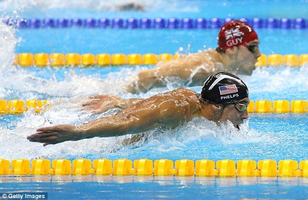 James Guy and Team GB couldn't match the US 4x100m medley team led by Michael…