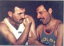 Freddie Mercury & Jim Hutton. So adorable together
