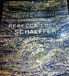 The Death of Rebecca Schaeffer