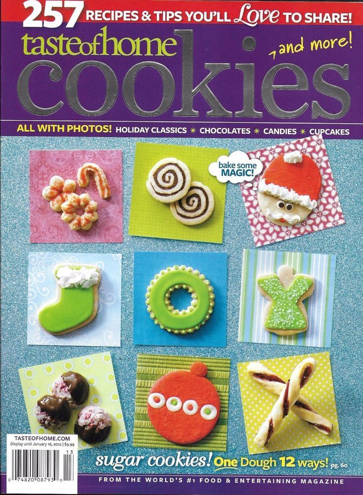 3603016ea395736499bf0e5187c51ce1 - Better Homes And Gardens Christmas Cookies Magazine 2015