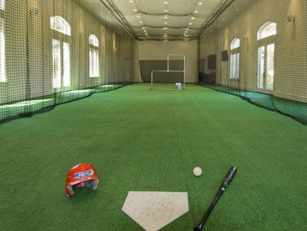 Home Batting Cage... Or how about home indoor soccer field?? :)