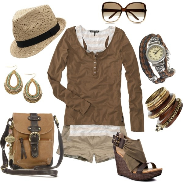 Relaxed, created by traci-oleary-reuer on Polyvore: Hats, Wear Toms, Fashion Galleries, Dreams Closet, Shoes Relaxing, Wedges Shorts, Fashionista Dreams Mi, Dreams Mi Style, Create