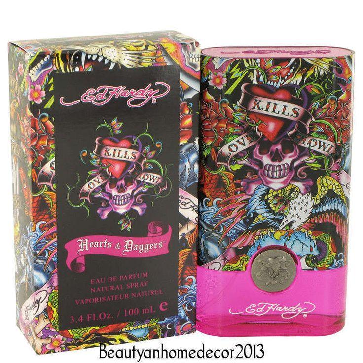 Ed Hardy Hearts & Daggers by Christian Audigier 3.4 oz EDP Spray Perfume for Wom #ChristianAudigier