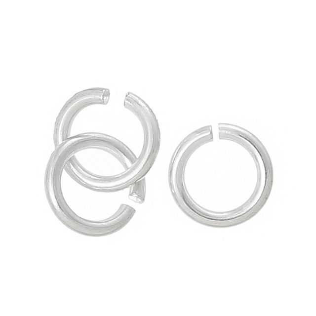 Buy STERLING SILVER OPEN JUMP RING 3mm,21 GAUGEfor R1.35