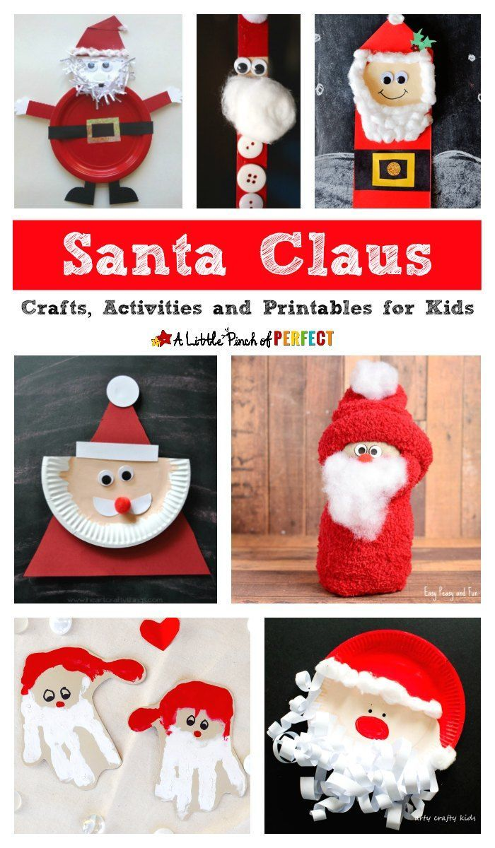 santa claus craft ideas 2107 best activities for images on 5362