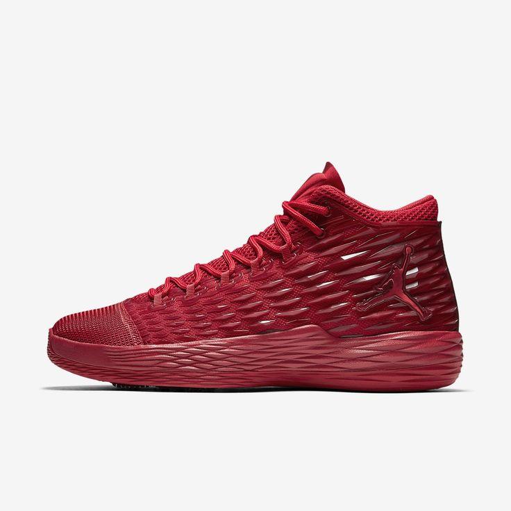Jordan Melo Men's Basketball Shoe, by Nike Size 15 (Red) - Clearance Sale